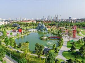 Vinhomes Smart City sở hữu hệ sinh thái tiện ích đẳng cấp bậc nhất Thủ đô.