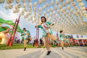 Trải nghiệm vui chơi đậm bản sắc Nhật Bản tại Vinhomes Smart City Tây Mỗ